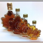 NH Maple Syrup Leaf Bottles