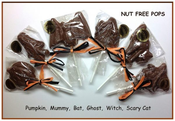 Nut Free Chocolate Halloween Candies