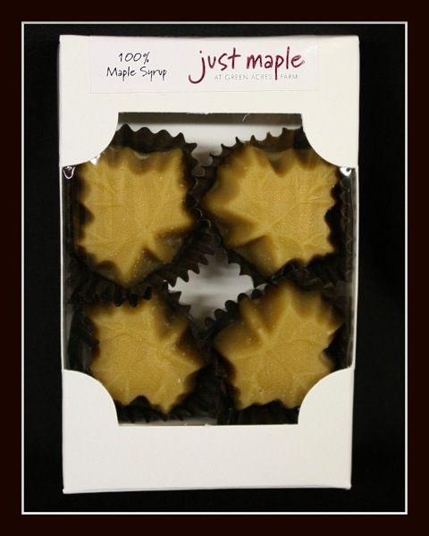 Maple Sugar Candy 4 Leaves