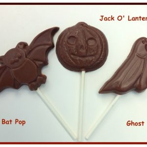 Chocolate Halloween Pops