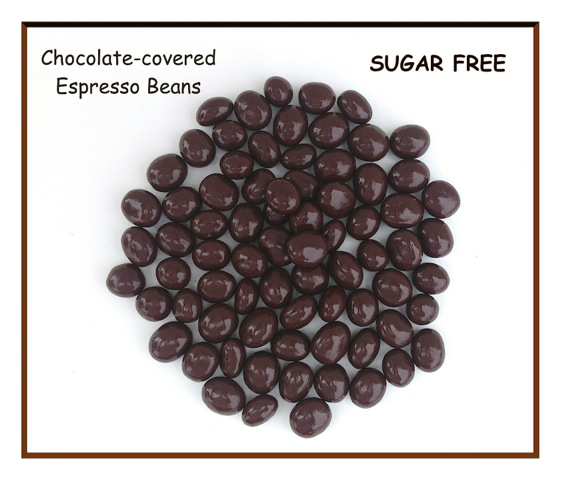 Sugar Free Chocolate Covered Espresso Beans