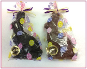 Nut Free Chocolate Easter Bunnies